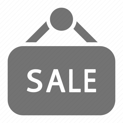 retail, sale, shopping, sign icon