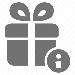 consumerism, gift, help, info, information, package, present icon