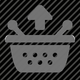basket, remove, retail, shop, shopping, store, supermarket icon