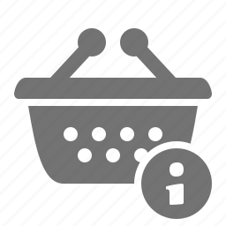 basket, help, info, information, shop, shopping, store icon
