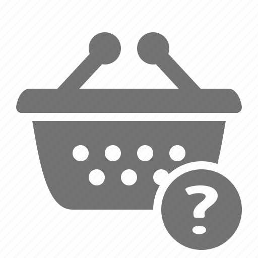 assistance, basket, help, order, retail, shop, shopping icon