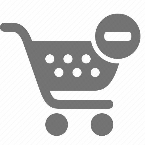 buy, cancel, cart, minus, remove, shop, shopping icon
