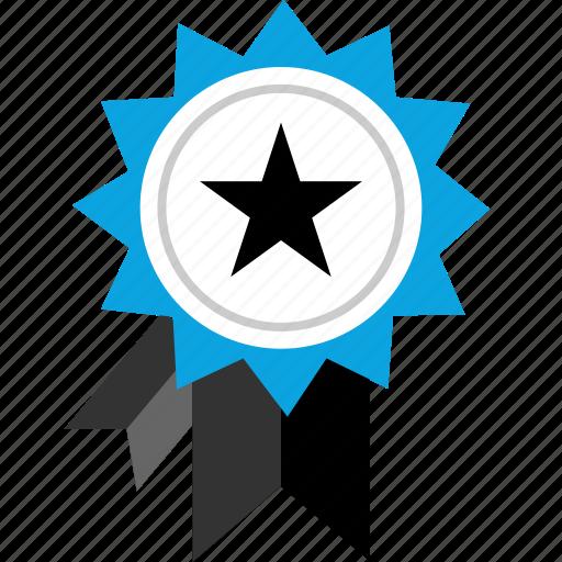 award, ribbon, speciai, star icon