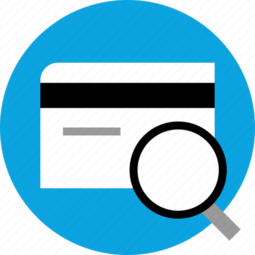 card, credit, details, disclaimer icon