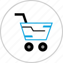 add, cart, credit, shopping icon