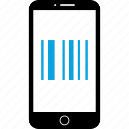 app, barcode, mobile, scan icon