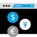currency, exchange, money, stockmarket icon
