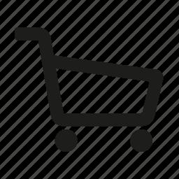 cart, shop, shopping cart, trolley icon