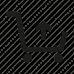 cart, remove, remove cart icon