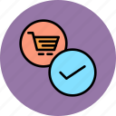 add, cart, checkout, commerce, finance, shopping, trade icon