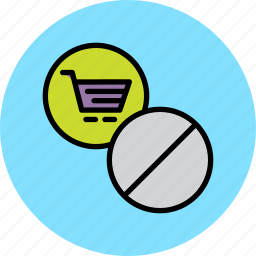 block, cart, disable, online, prohibit, report, shopping icon