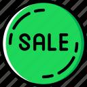 shop, badge, shopping, sale, business