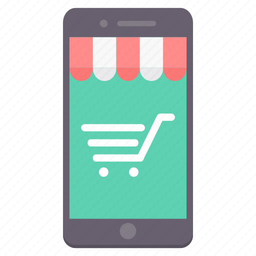 app, cart, ecommerce, mobile, shop, shopping, website icon