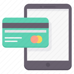 card, credit, online, pay, payment, shopping, smart icon