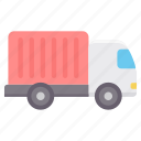delivery, road, shipping, transport, transportation, truck, vehicle icon