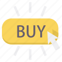buy, click, ecommerce, online, purchase, purchasing, shopping icon