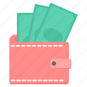 account, balance, bank, cash, finance, money, wallet icon