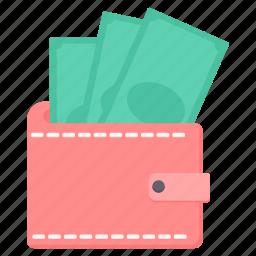 account, balance, bank, cash, finance, money, wallet icon