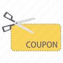 coupon, discount, ecommerce, label, offer, sticker, voucher icon
