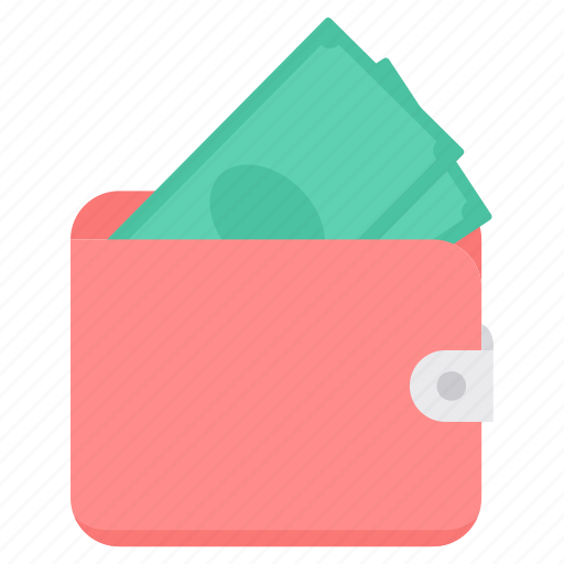bank, dollar, financial, money, paper, payment, wallet icon