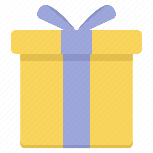 box, courier, gift, package, parcel, product, ribbon icon