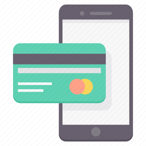 card, convenient, feasibility, mobile, online, pay, payment icon