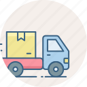 delivery, free, home, ship, shipping, transport icon