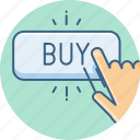 buy, click, ecommerce, online, shop, shopping icon