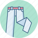 clothes, clothing, fashion, man, pant, pants icon