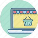 cart, ecommerce, online, shop, web, website icon