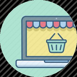 cart, ecommerce, online, shop, web, website icon
