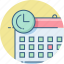 calendar, date, day, event, schedule, time, timer icon
