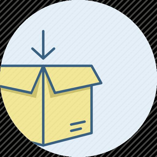 box, carton, logistic, logistics, parcel icon