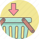 add, basket, ecommerce, shop, shopping icon