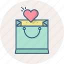 heart, item, items, list, love, shopping, wishlist icon