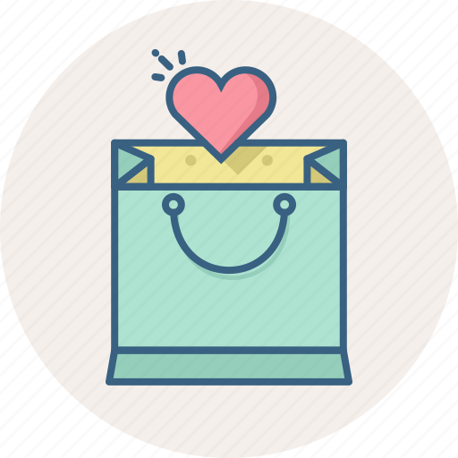 heart, item, items, list, love, shopping, wishlist icon