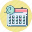 calendar, calender, date, day, event, month, schedule icon