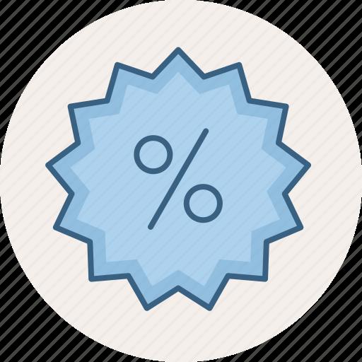 discount, label, percentage, price, sale, sign, sticker icon