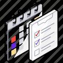 checklist, planning, schedule, task list, todo list icon