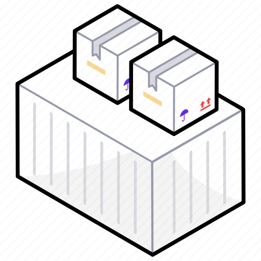 delivery services, freight shipping, package delivery, shipping, stock icon