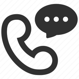 bubble, call, chat, communicate, communication, message, phone icon