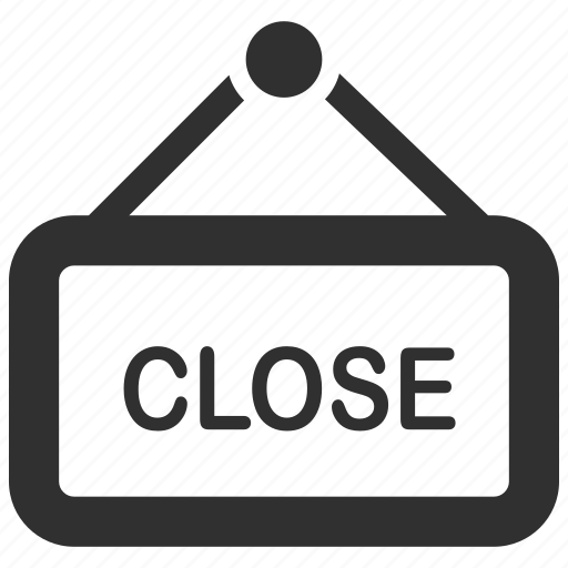 business close ecommerce sale shop shopping icon