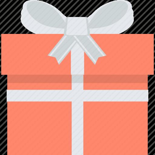 celebration, e-commerce, flat design, gift, shopping, surprise icon