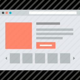 e-commerce, flat design, internet, marketplace, online, shopping, website icon