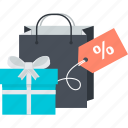 discount, gift, sale, shopping, special icon