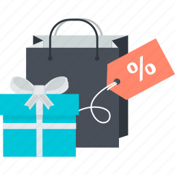 discount, flat design, gift, sale, shopping, special icon