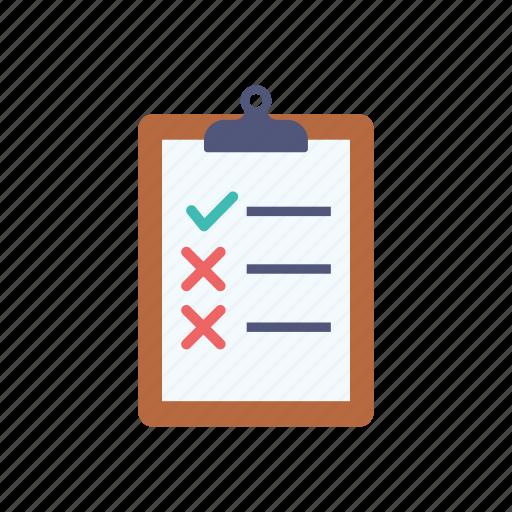 checklist, clipboard, shopping, survey, to do list, wishlist icon