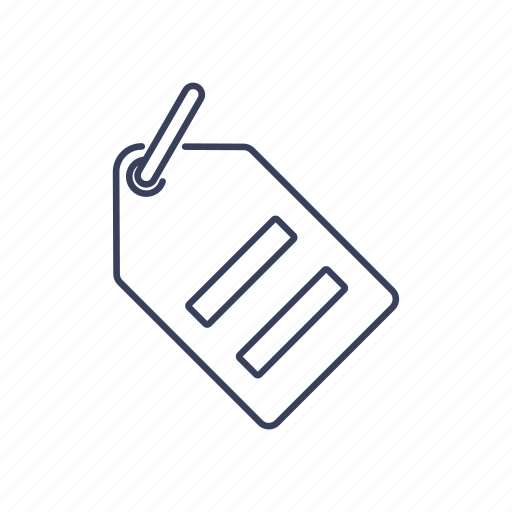commerce, label, price, tag icon