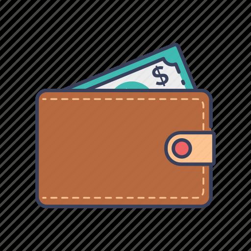 cash, money, shopping, wallet icon