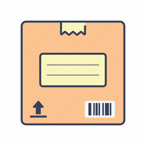 box, delivery, package, shopping icon